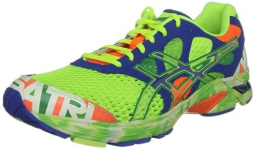 Asics Gel Tri 7, Zapatillas de Running para Hombre, Pop Yellow/Tropic Green/Noosa, 41 EU: Amazon.es: Zapatos y complementos