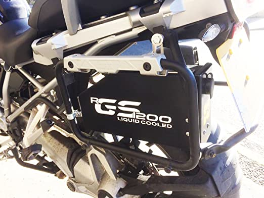 Cassetta degli attrezzi R1200 GS LC NERO ANODIZZATO Raid Toolbox