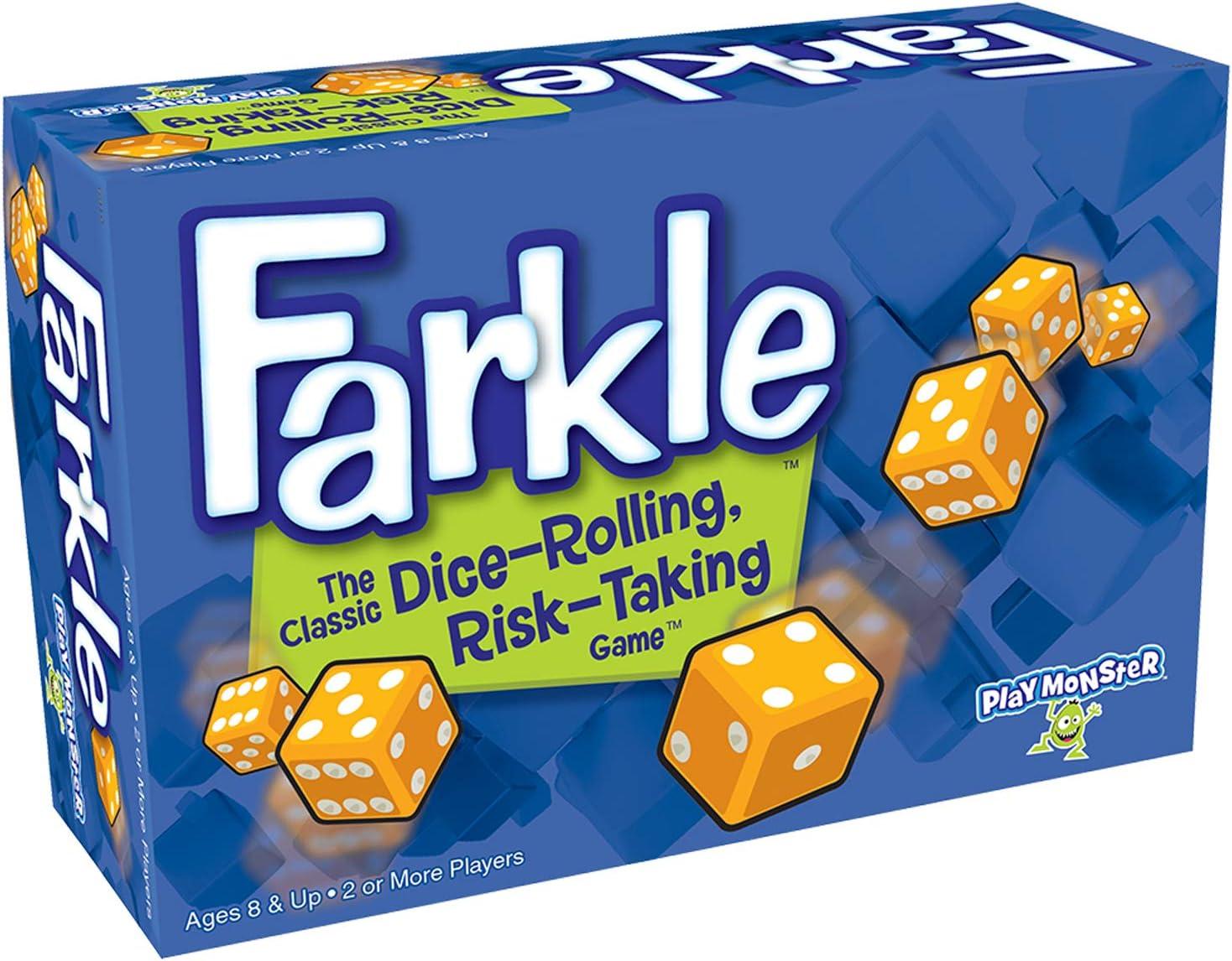 Patch Products Farkle Game Box - Caja de Juegos (2 Unidades), Multicolor: Amazon.es: Hogar