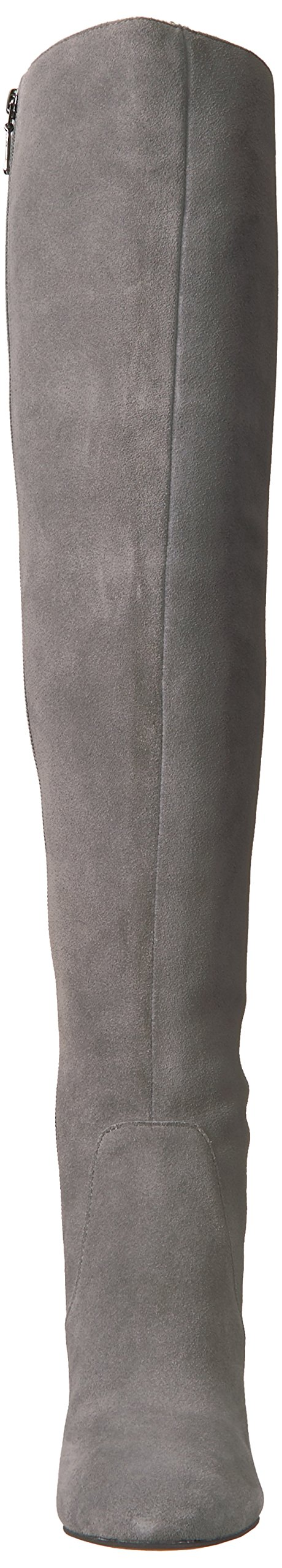 The Fix Women's Lyndsey Over-The-Knee Block-Heel Boot, Elephant Grey, 6.5 M US by The Fix (Image #4)