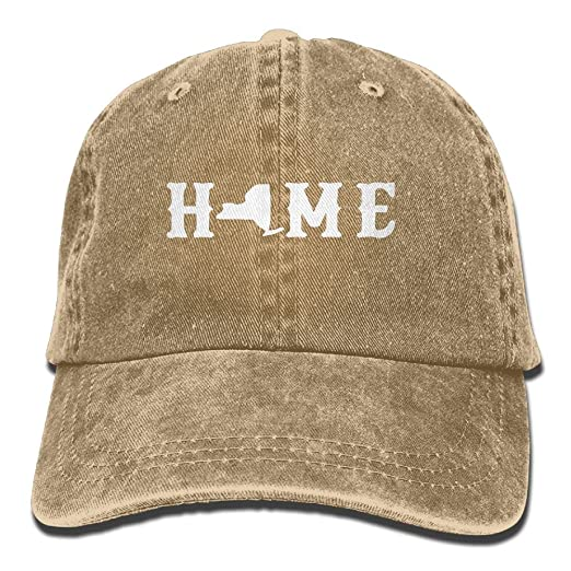 485144f7916 Men And Women New York Home 1 Vintage Jeans Baseball Cap at Amazon ...