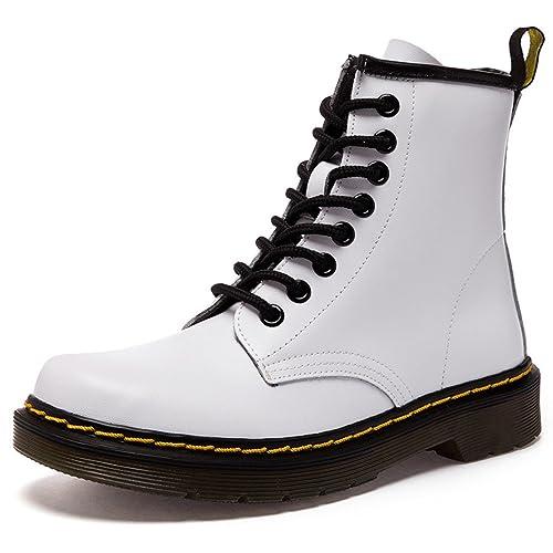 89341d2947 Botas de Mujer Impermeables Botines Hombre Invierno Zapatos Nieve Piel  Forradas Calientes Planas Combate Militares Boots  Amazon.es  Zapatos y  complementos