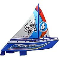 Yelkenli Süper Hızlı Oyuncak Gemi Tekne 24 Cm