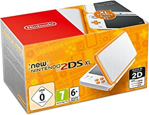 Nintendo 2Ds Xl Console Pokeball Edition, Wit/Orange (Nintendo Ds)