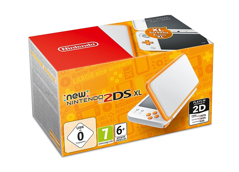 New Nintendo 2DS XL Weiß + Orange, 1 Konsole