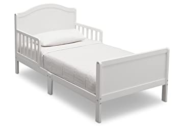 Delta Children Bennett Toddler Bed Bianca White