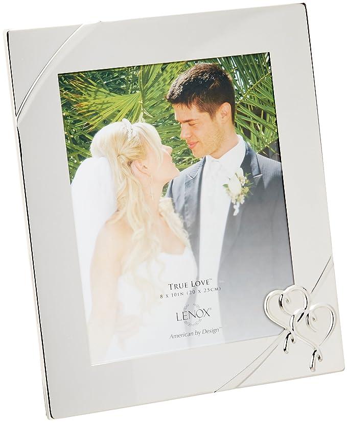 Amazon.com - Lenox True Love 8x10 Picture Frame - Luxury Frames