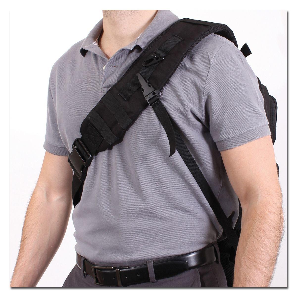 Rothco Rucksack Tactisling Backpack Sling MOLLE schwarz mit Schultergurt