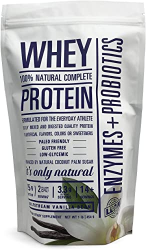 MuscleTech NitroTech Whey Plus Isolate Gold, Vanilla Bean, 2 Pound