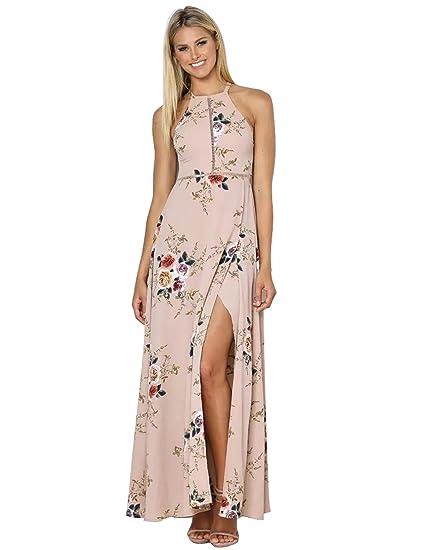 b60a91121ae Jingjing1 Women Maxi Dress