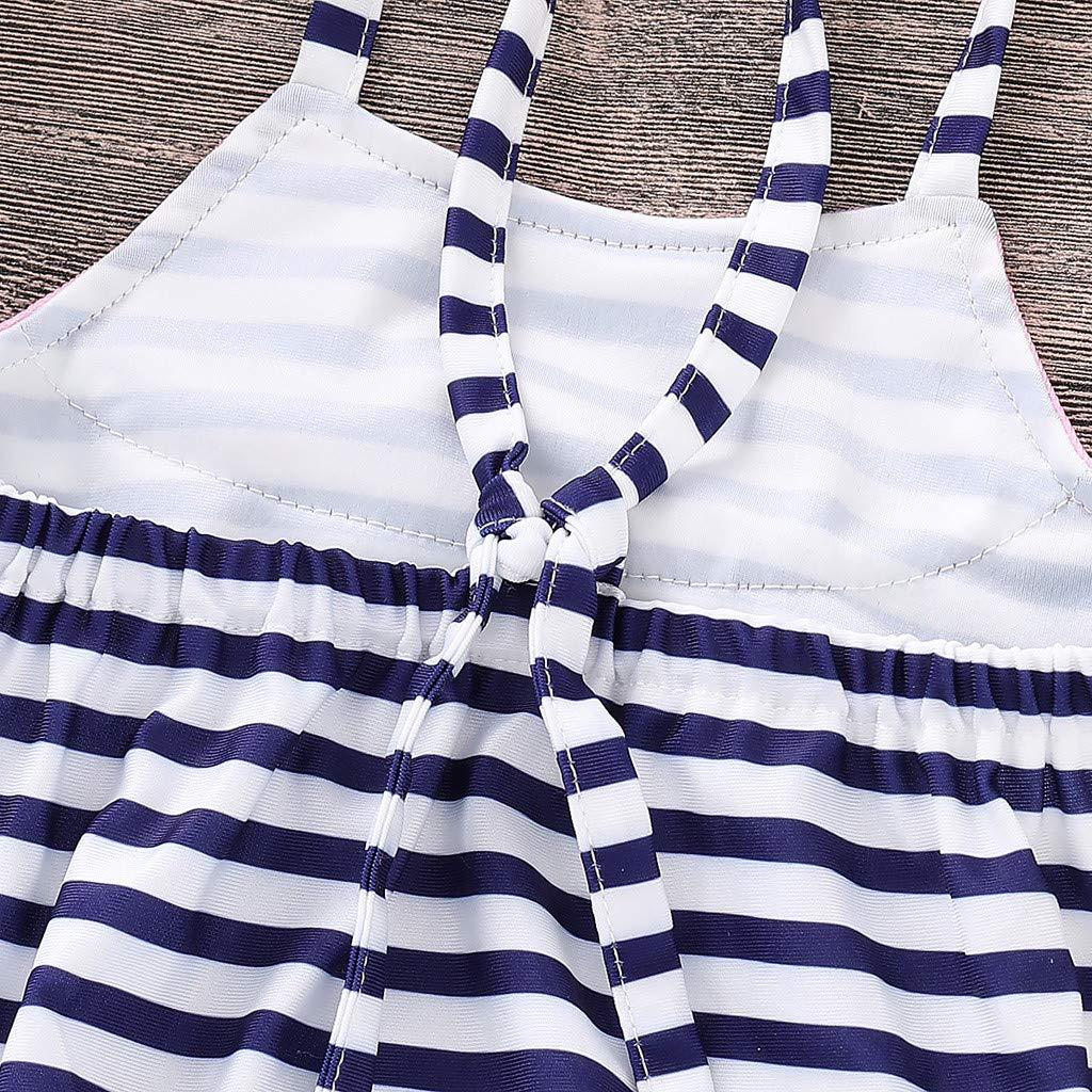 Covermason Neugeborene Badebekleidung Sommerkleidung Hirolan Kinderbekleidung S/äugling Bikini Outfits Kinder Bademode Baby M/ädchen Riemen Badeanzug Schwimmbekleidung Beachwear-Kost/üme