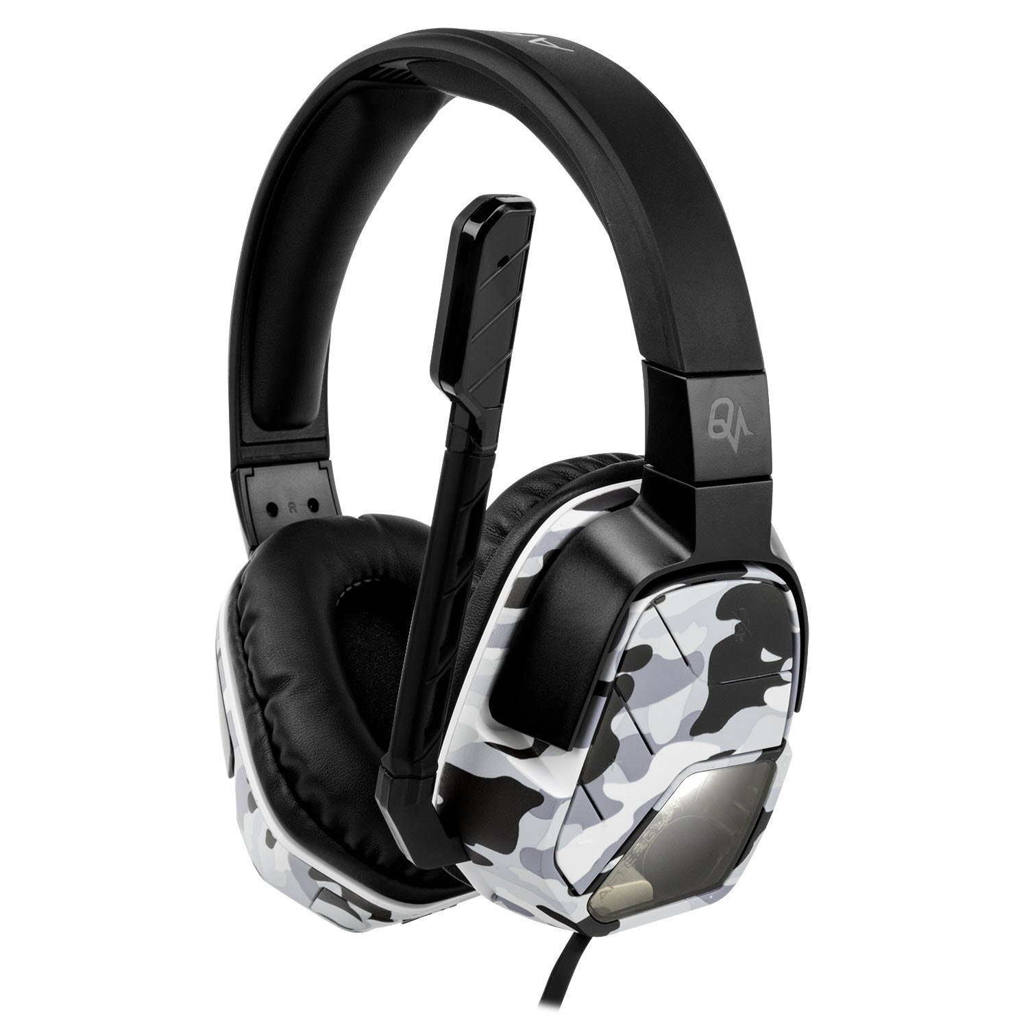PDP Afterglow LVL 5 Plus Wired Headset for PlayStation 4-Camo - LVL ...
