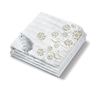 Beurer TS 23 - Calientacamas individual, 75 x 130 cm, lavable, color blanco