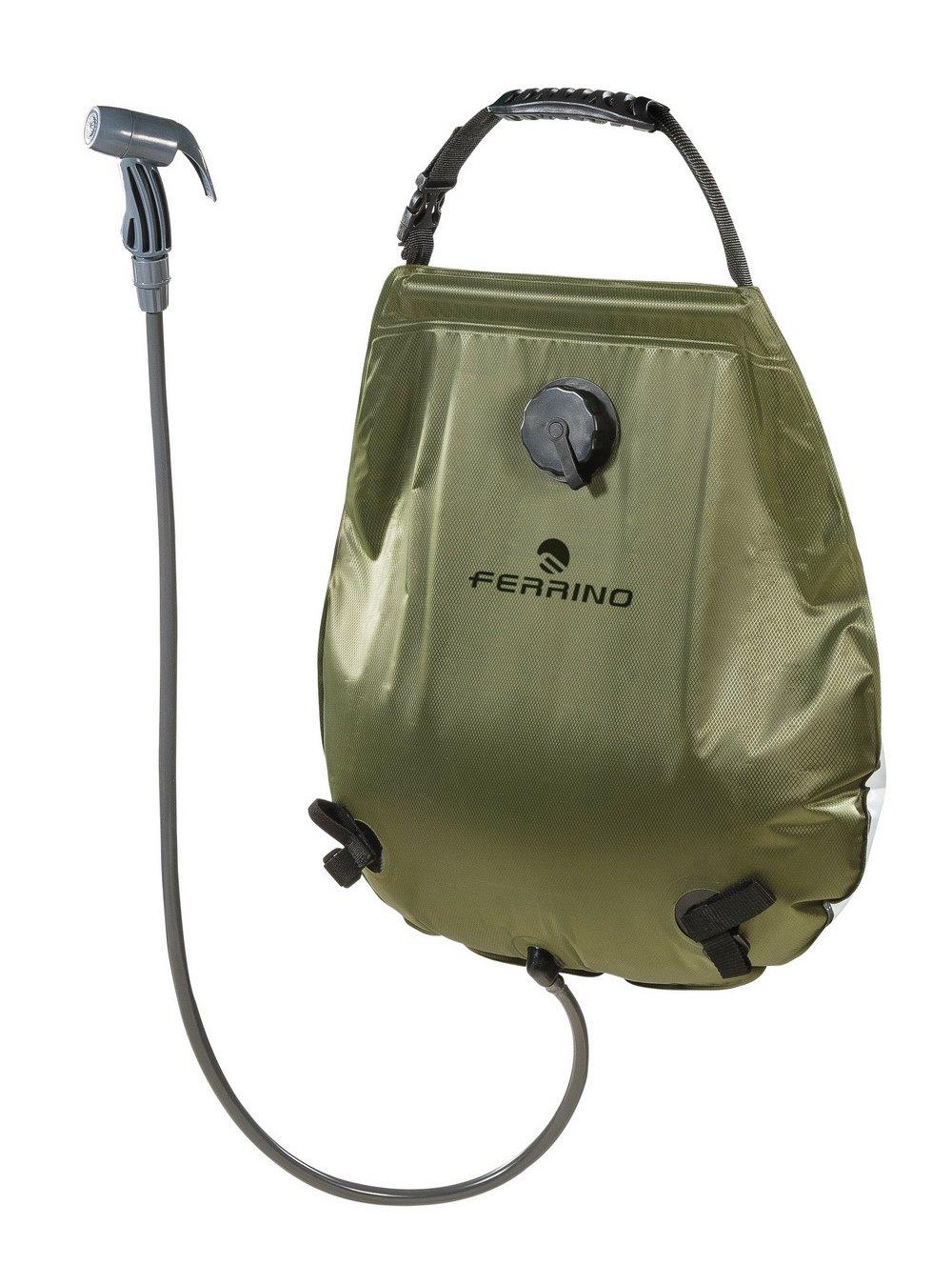 L Vert FERRINO Sunshower Deluxe Douche transportable