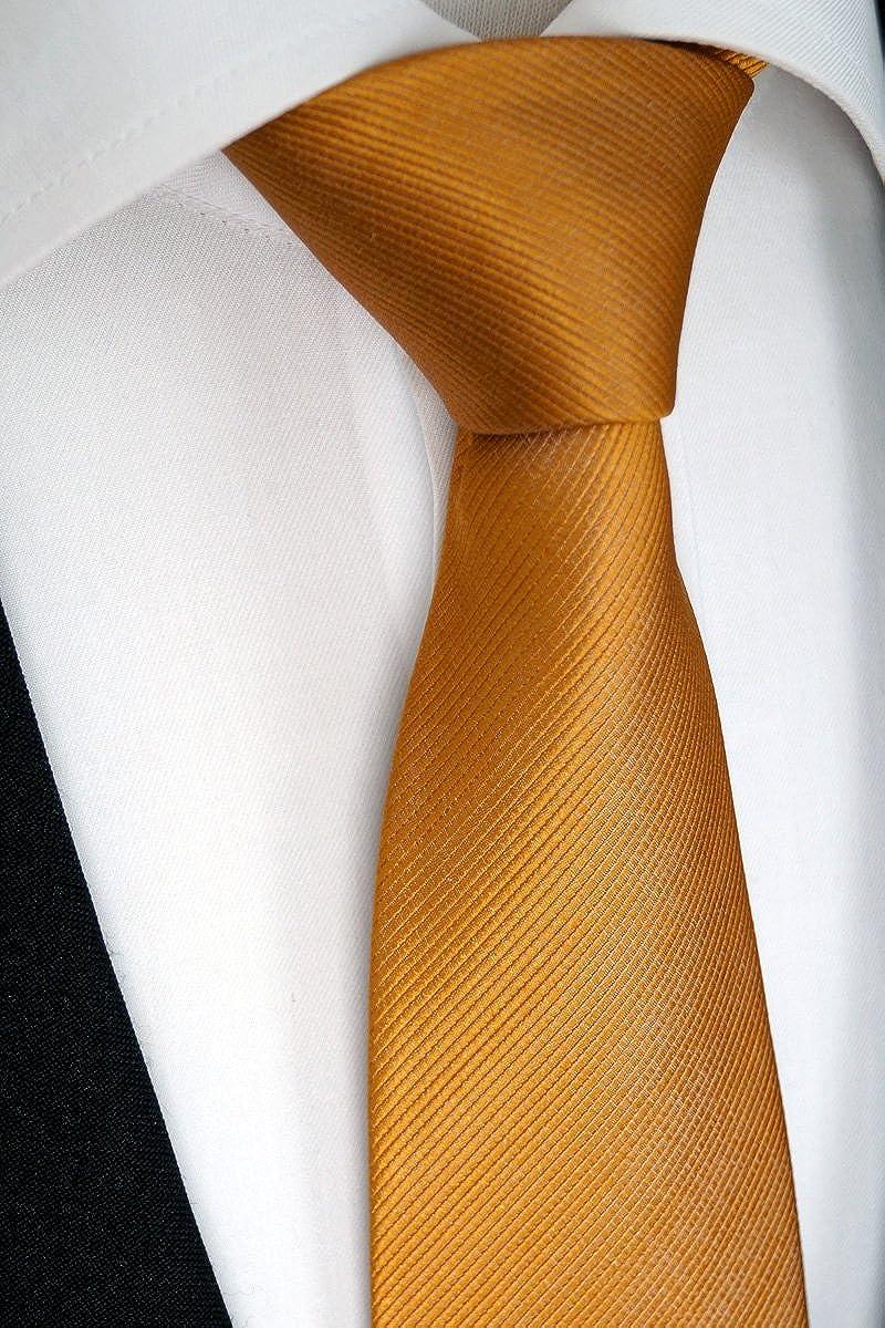 Sören Svensson - Corbata - para hombre Naranja Marrón anaranjado ...