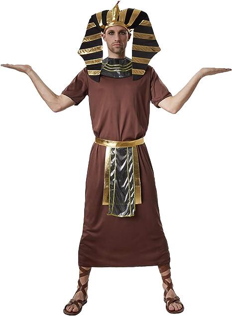 dressforfun 900551- Disfraz de Hombre Faraón Ramses, Disfraz ...