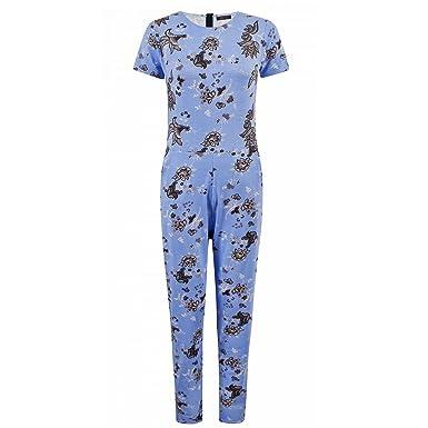 59f885ab656f1 Envy Boutique - Combinaison Pantalon Femme Célébrité Fleurs Petite Manche  Robe Patineuse - Combinaison à fleurs