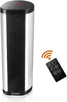 Amazon.com: Calentador de torre PELONIS, 1500 W, calentador ...