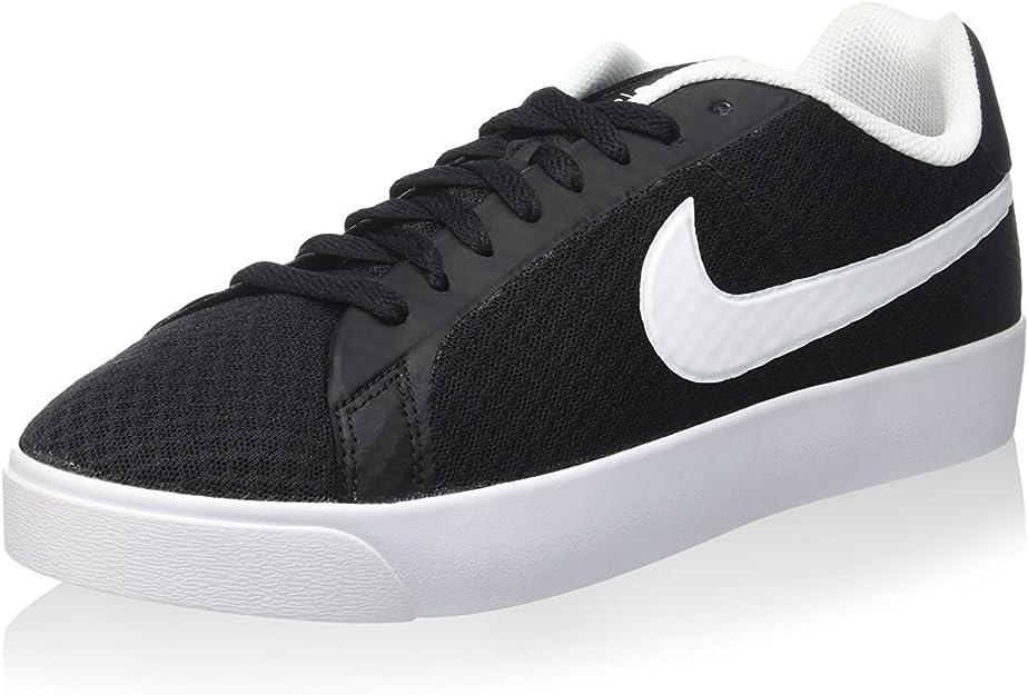 scarpe nike court royale nero