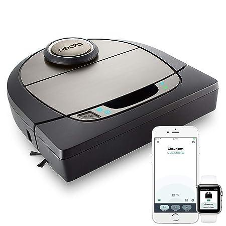Neato Robotics Botvac D7 Connected - Premium Saugroboter mit Ladestation, Wlan & App - Staubsauger Roboter, Alexa-kompatibel