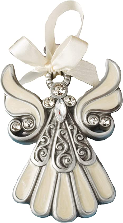 1 Guardian Angel Ornament Wedding Favor Baptism Christening Christmas Custom Tag