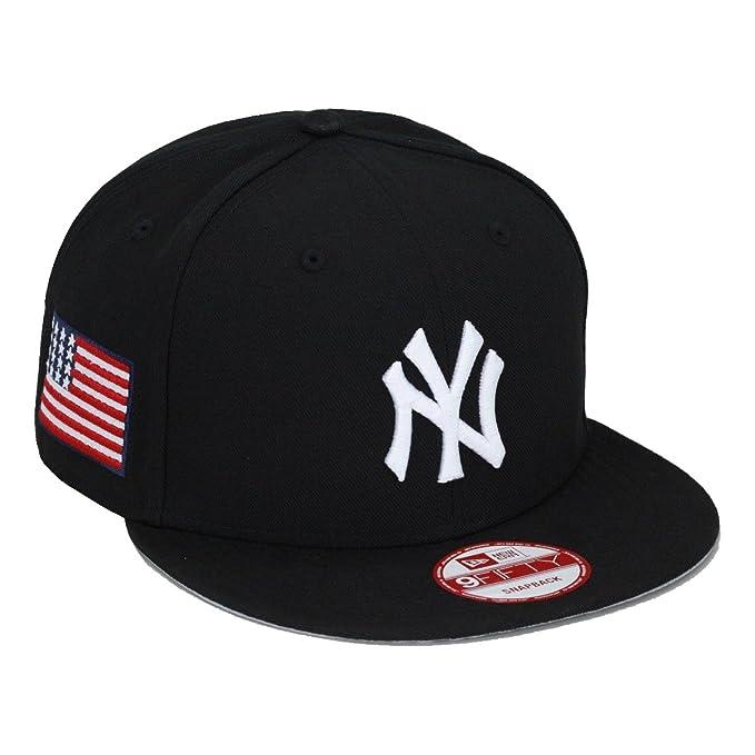 New Era New York Yankees gorra Cap Negro/diseño de bandera de Estados Unidos Olímpicos: Amazon.es: Ropa y accesorios