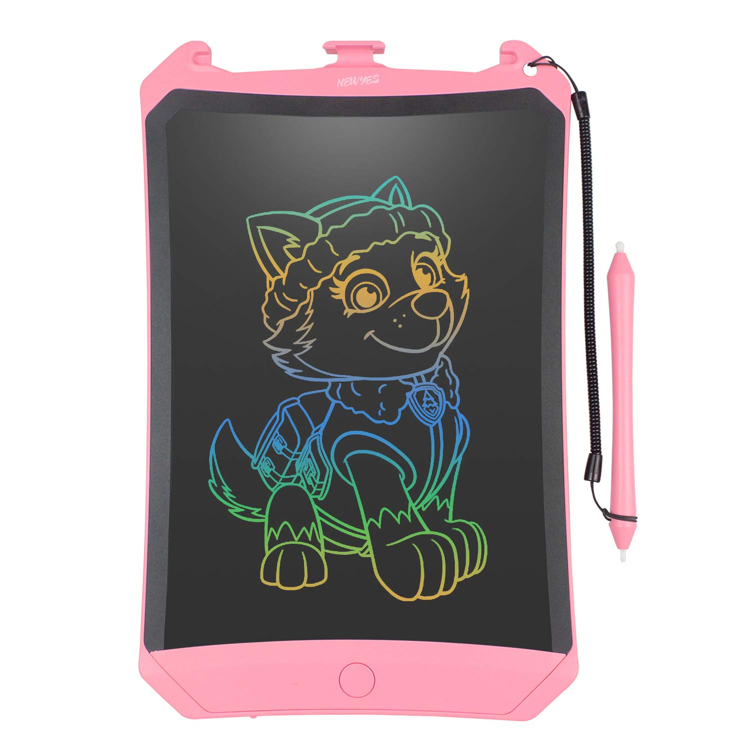 WOBEECO LCD Writing Tablet, 2019 Upgraded Colorful Screen 8 5 Inch  Electronic Writing Board Doodle and Scribble Board Magnetic MeMO Notes  Comes with 1