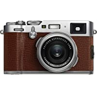 Fujifilm X100F 24.3 MP APS-C Digital Camera-Brown