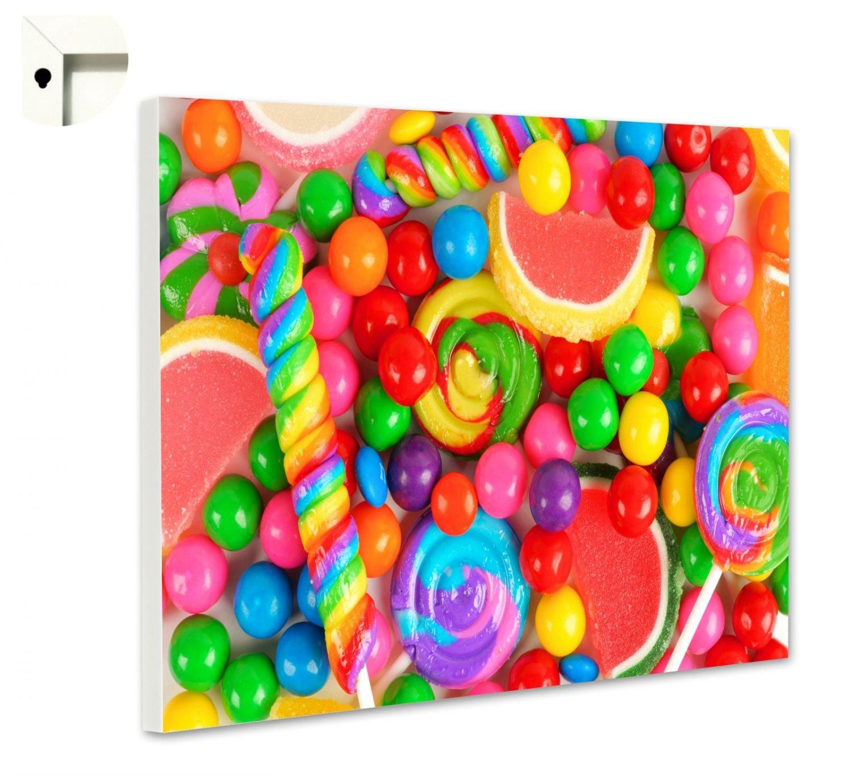 B-wie-Bilder  Magnettafel Pinnwand mit Motiv Küche Essen & Trinken Knallbunte Größe 60 x 40 cm