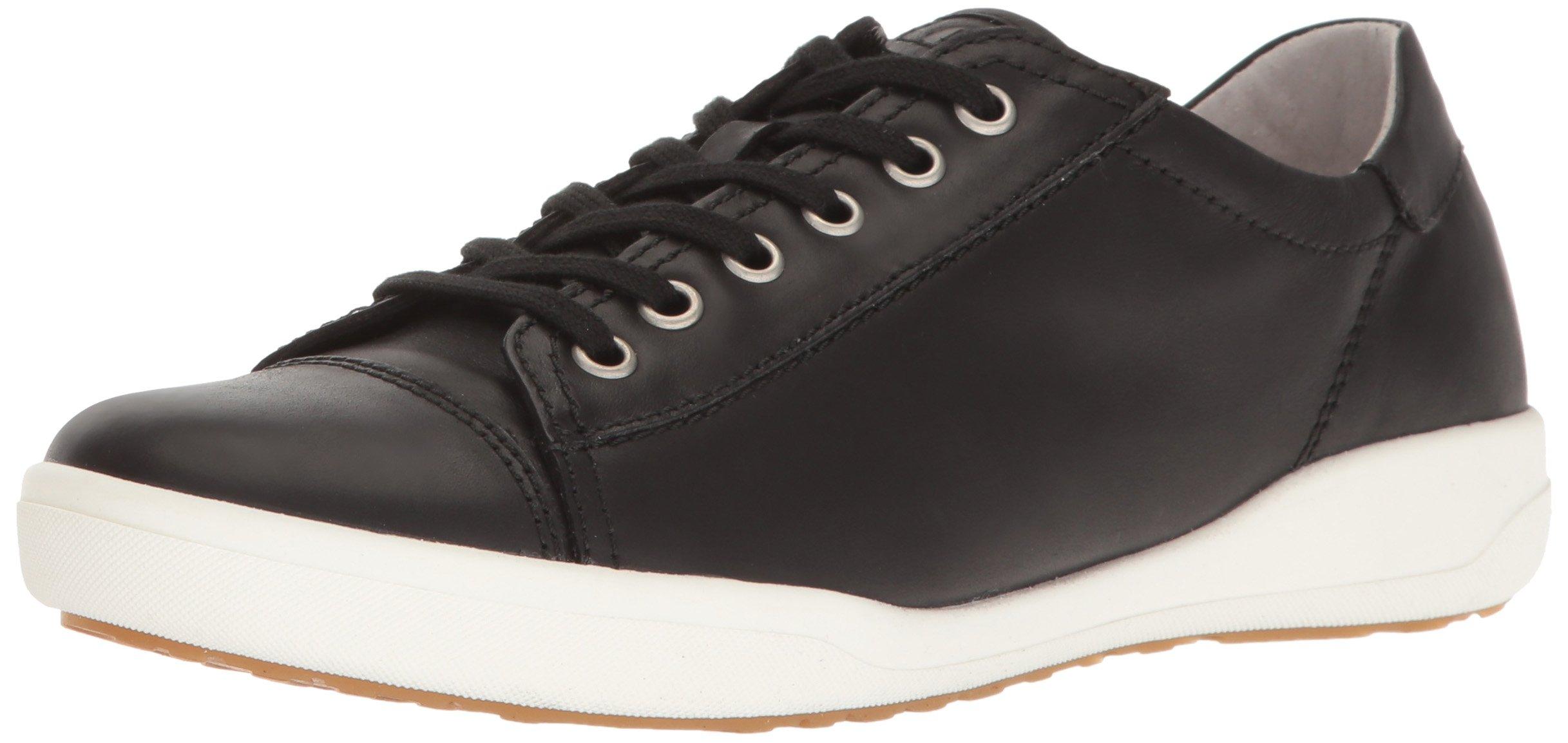 Josef Seibel Women's Sina 11 Sneaker, Black, 38 EU/7-7.5 M US