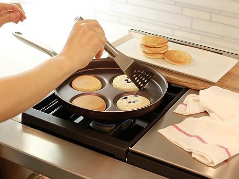TECHEF - Sartén Eggcelente, Sartén Sueca Pancake, Plett Pan ...