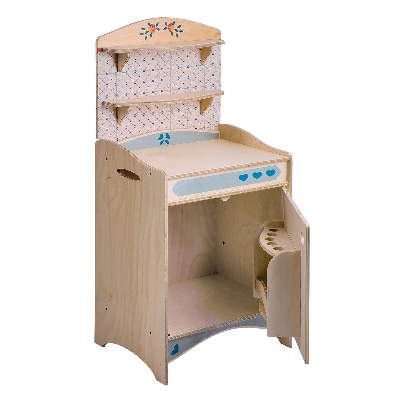 Dida - Mobiletto Frigo componibile giocattolo in legno per bambini
