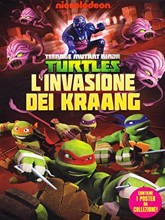 Amazon.com: teenage mutant ninja turtles - linvasione di ...