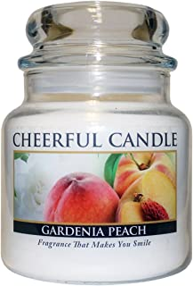 product image for A Cheerful Giver Cheerful Gardenia Peach 16 Ounce Glass jar Candle