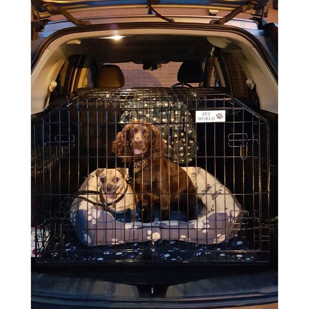 Arrow HONDA CRV 02-12 SLOPED 4x4 ESTATE CAR DOG CAGE TRAVEL CRATE PUPPY BOOT GUARD CAGES Arrows HON_CRV
