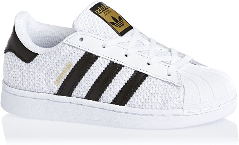 adidas Superstar Nylon Enfant Blanche Blanc 28: Amazon.fr ...