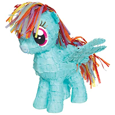 amscan My Little Pony Friendship Adventures Mini Tissue Decoration: Toys & Games