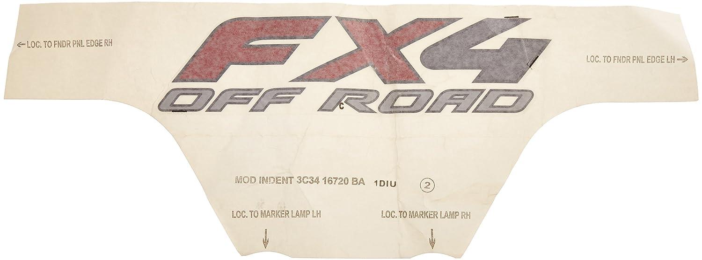 Genuine Ford 3C3Z-16720-BAA Model Identification Decal