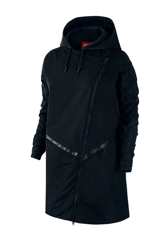 5dbb4ea39ae6 Nike Women s Parka Bonded Athletic Trench Jacket at Amazon Women s Coats  Shop