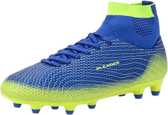 ALEADER Boys Athletic Turf Indoor Soccer Shoes Football Boots Little Kid//Big Kid