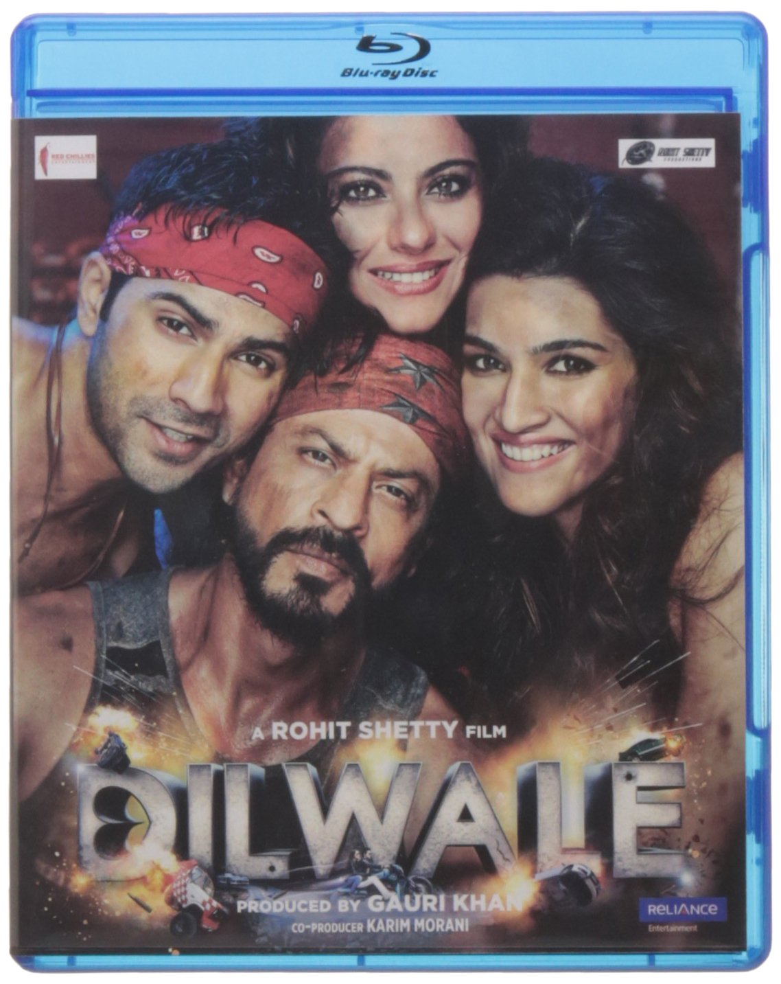 Amazon Com Dilwale 2015 Hindi Movie Special Edition Bluray