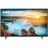 MEDION LIFE X18061 MD 31110 125,7cm (50 Zoll Full HD) Fernseher (Smart-TV mit LED-Backlight Technologie, HD Triple Tuner, DVB-T2 HD, CI+, HDMI, 600 MPI, USB, Netflix App) schwarz
