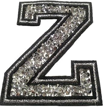 B/ügel Iron on Buchstaben Aufn/äher Patches f/ür Jacken Cap Hosen Jeans Kleidung Stoff Kleider B/ügelbilder Sticker Applikation Aufb/ügler zum aufb/ügeln A CA 8-10 cm