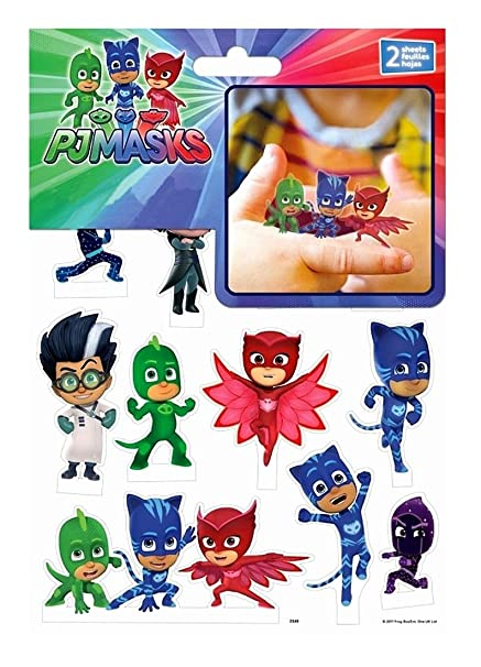 Trends International PJ Masks Pop-Up Stickers (2 Sheets)