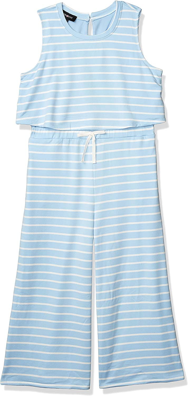 Amy Byer Girls Popover Jumpsuit