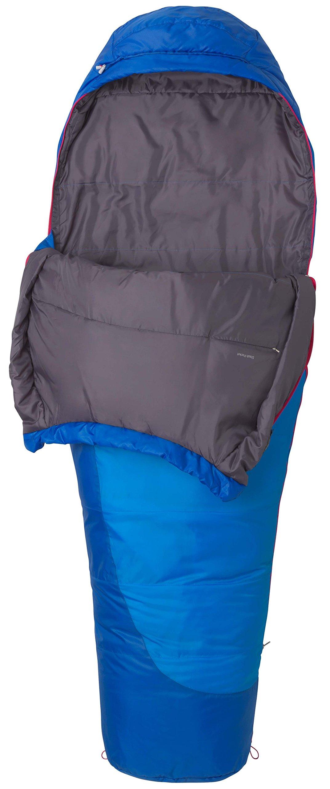 Marmot Trestles 15 Womens Cold Weather Mummy Sleeping Bag 15 Degree Rating