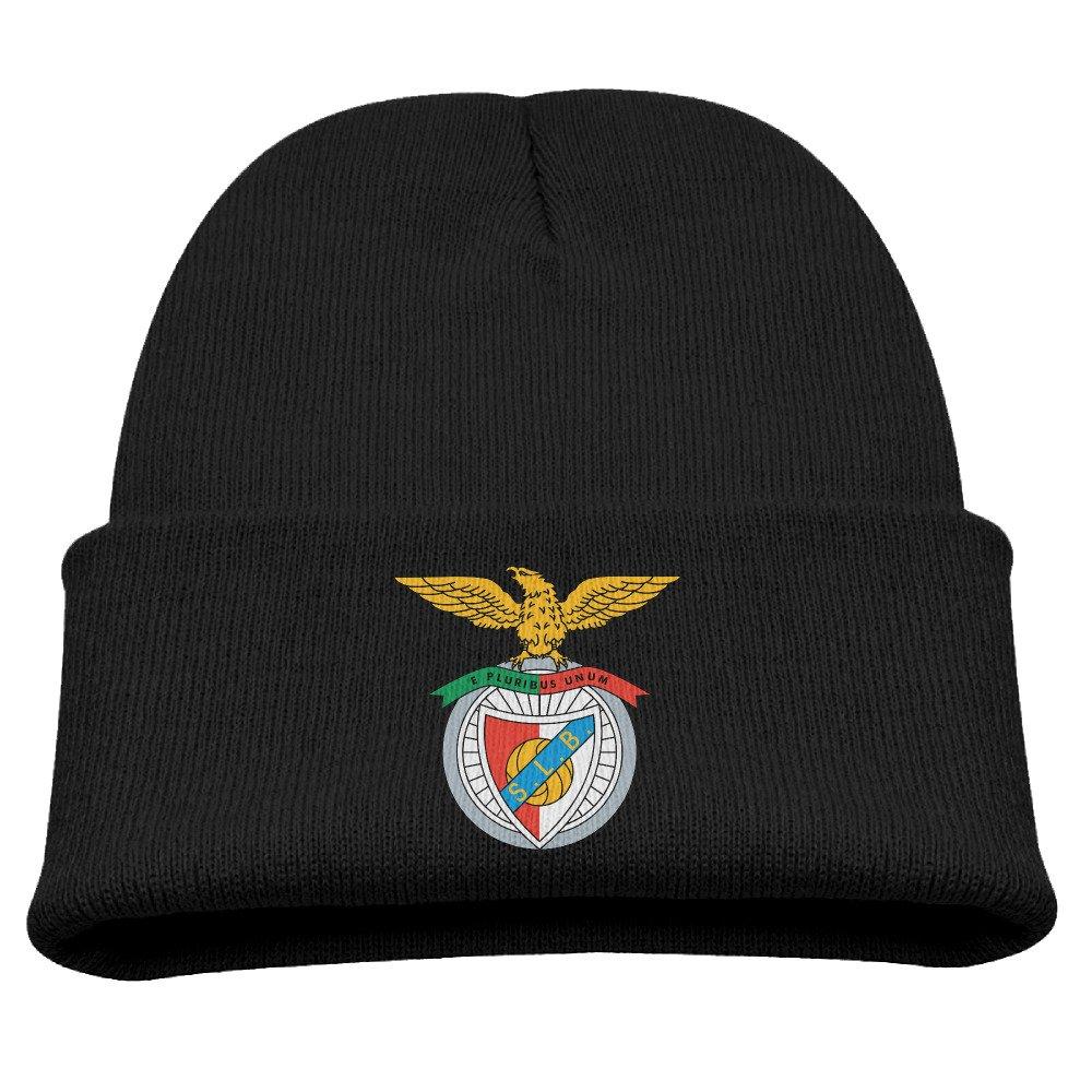 TINGHAO Sport Lisboa E Benfica SL Benfica Logo Winter Knit Cap Beanie Cap For Kids