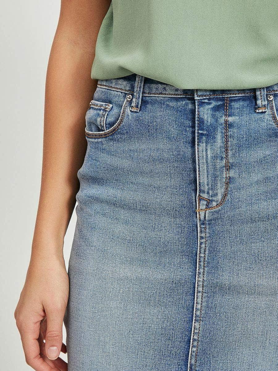 Vila NOS Vicommit Felicia Short Skirt LB-Noos Falda para Mujer