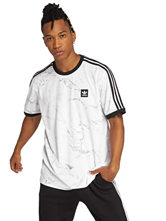 adidas Originals Hombres Ropa Superior/Camiseta Mrble AOP CLB