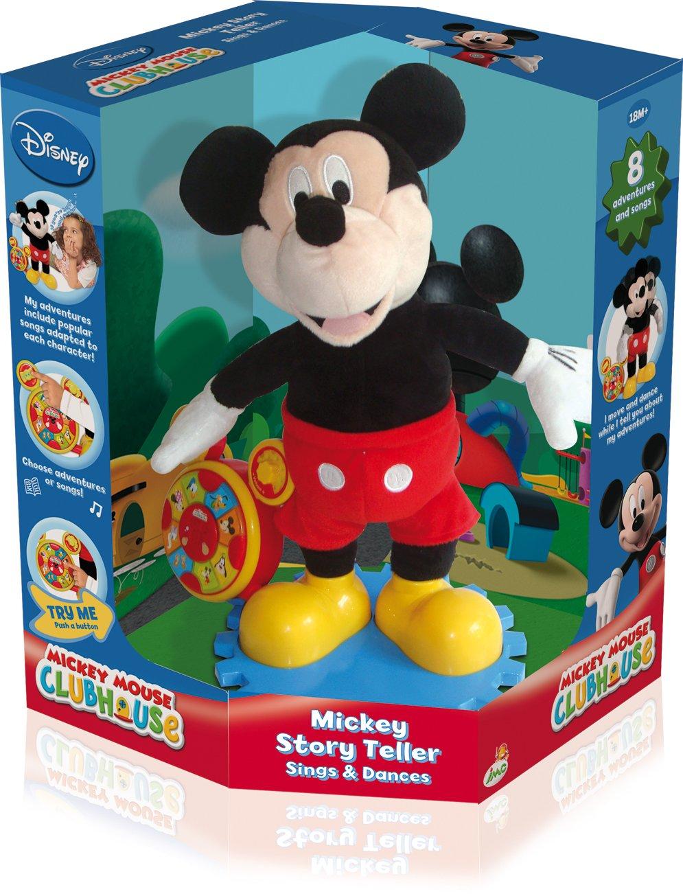 Amazon.es: Imc Toys - Mickey Cuenta Cuentos 8 Cuentos Y Canciones Diferentes 43-180307